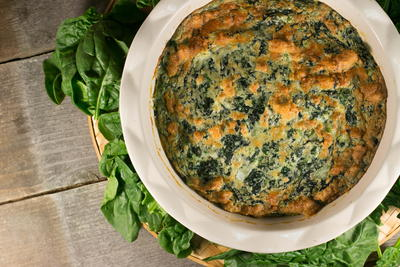 Healthy Spinach Bake
