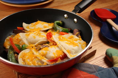 Cheesesteak Pierogies