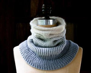Seaside Ombre Cowl