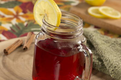 Hot Cran Apple Cider