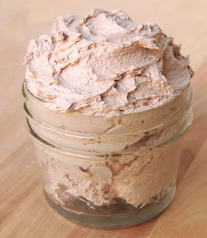 Whipped Chocolate Bath Butter