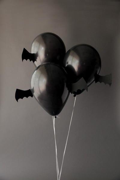 Just Batty Balloon Decoration Ideas
