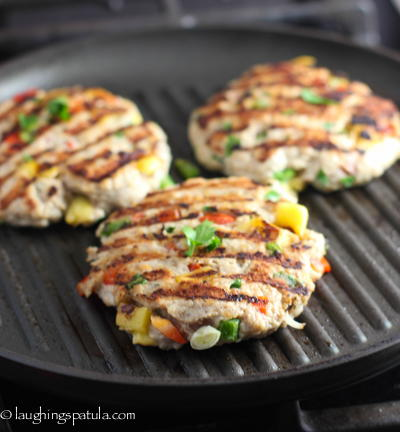 Tropical Chicken Burger