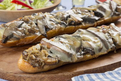 Portobello Steak Sandwich