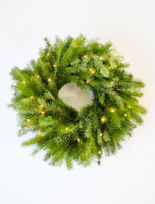 Evergreen DIY Christmas Wreath