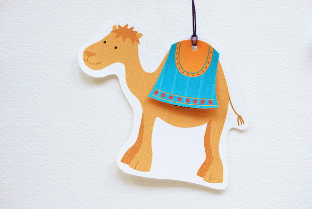Cute Camel Printable Christmas