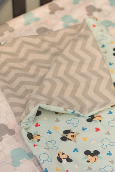 Reversible Baby Blanket Pattern