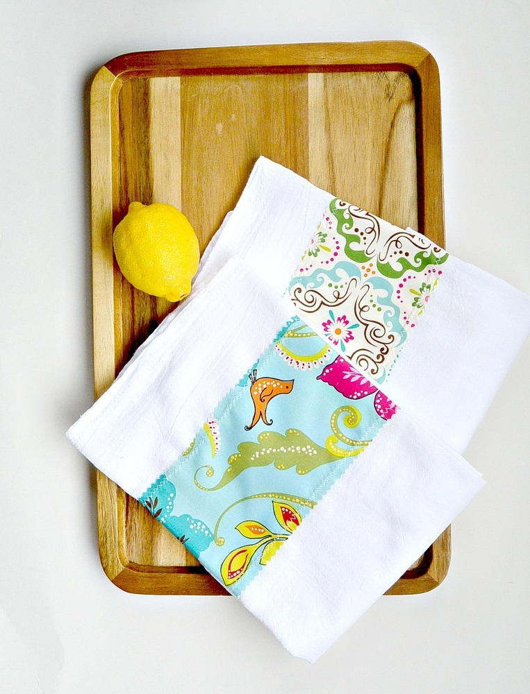 Customized diy tea towels allfreesewing