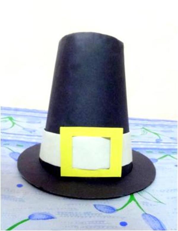 paper pilgrim hat