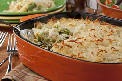 Chicken and Broccoli Hotdish