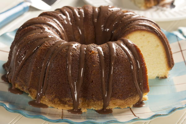 Old fashioned chocolate cake with cooked icing recipes