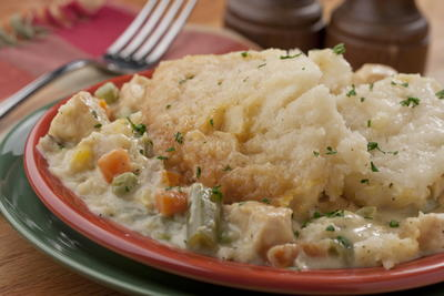 Chicken Cobbler Pie