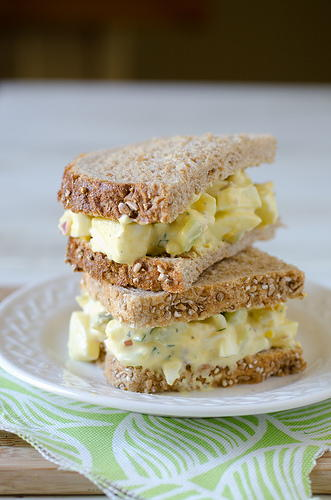 Grandmas Favorite Egg Salad Sandwich