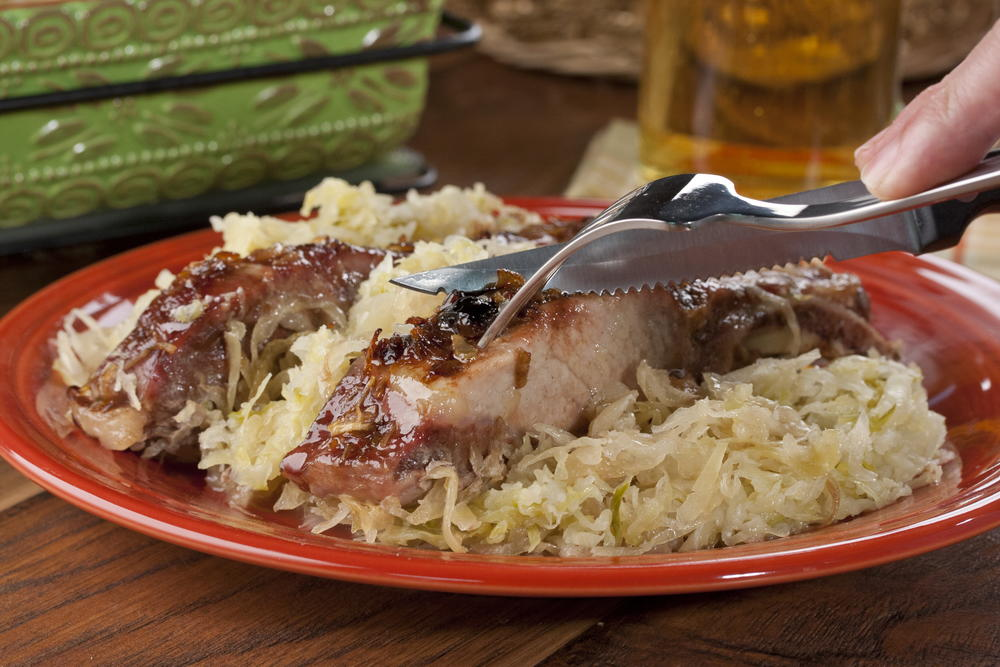 Slow Roasted Country Ribs Mrfood Com