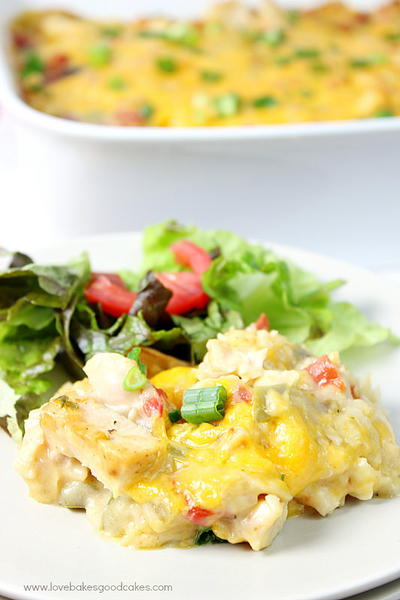 Comfort King Ranch Casserole