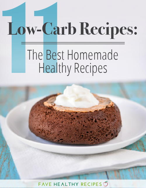 11 Low-Carb Recipes The Best Homemade Healthy Recipes