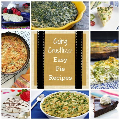 Going Crustless: Easy Pie Recipes