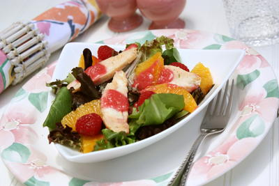 Chicken Raspberry Salad
