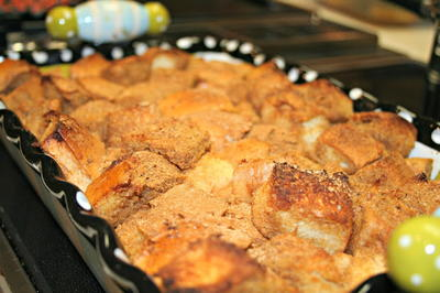 Egg-Free French Toast Casserole