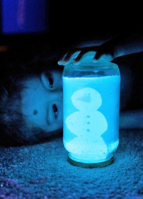 Glow in the Dark DIY Snow Globe