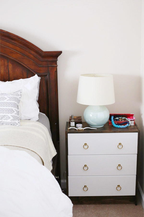 IKEA Rast Hack DIY Night Stand
