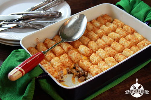 Paiges Tater Tot Casserole