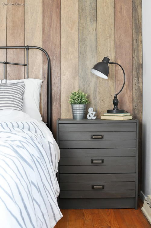 Rustic Industrial DIY Night Stand