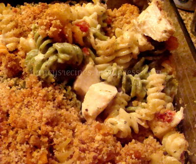 Chicken Pesto Casserole