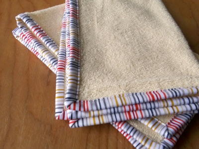 Cotton Terry Cloth Fingertip Towels