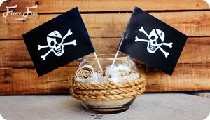 Pirate Party Centerpiece Printable