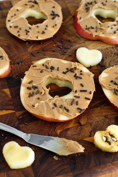Sliced Apple Donuts