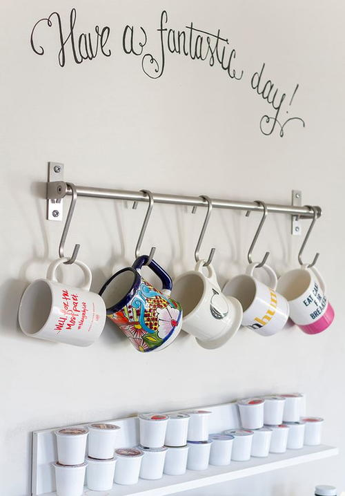 Grundtal Bar Hack DIY Mug Rack