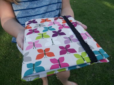 DIY Notebook Cover for Kids