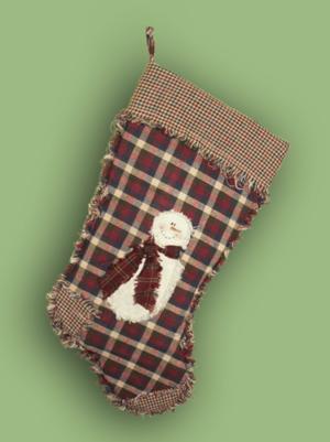 Ragged Homespun Christmas Stocking Patterns