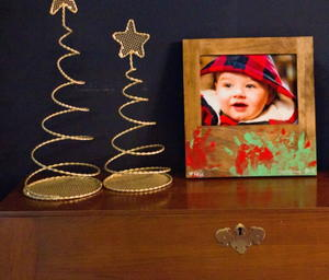 Baby Hand Print Picture Frame