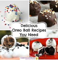 Delicious Oreo Desserts: 8 Oreo Balls Recipes