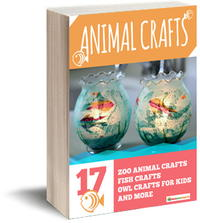 Animal Crafts: 17 Zoo Animal Crafts, Fish Crafts, Owl Crafts for Kids, and More eBook