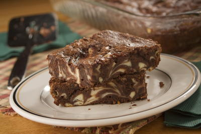 Marbled Brownie Bars