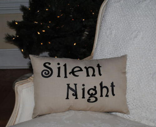 Simple and Elegant Christmas Pillow