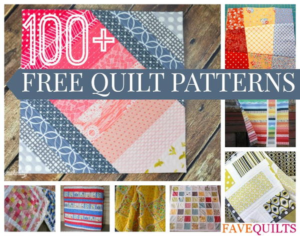 100+ Free Quilt Patterns For Your Home | FaveQuilts.com : quilt books - Adamdwight.com