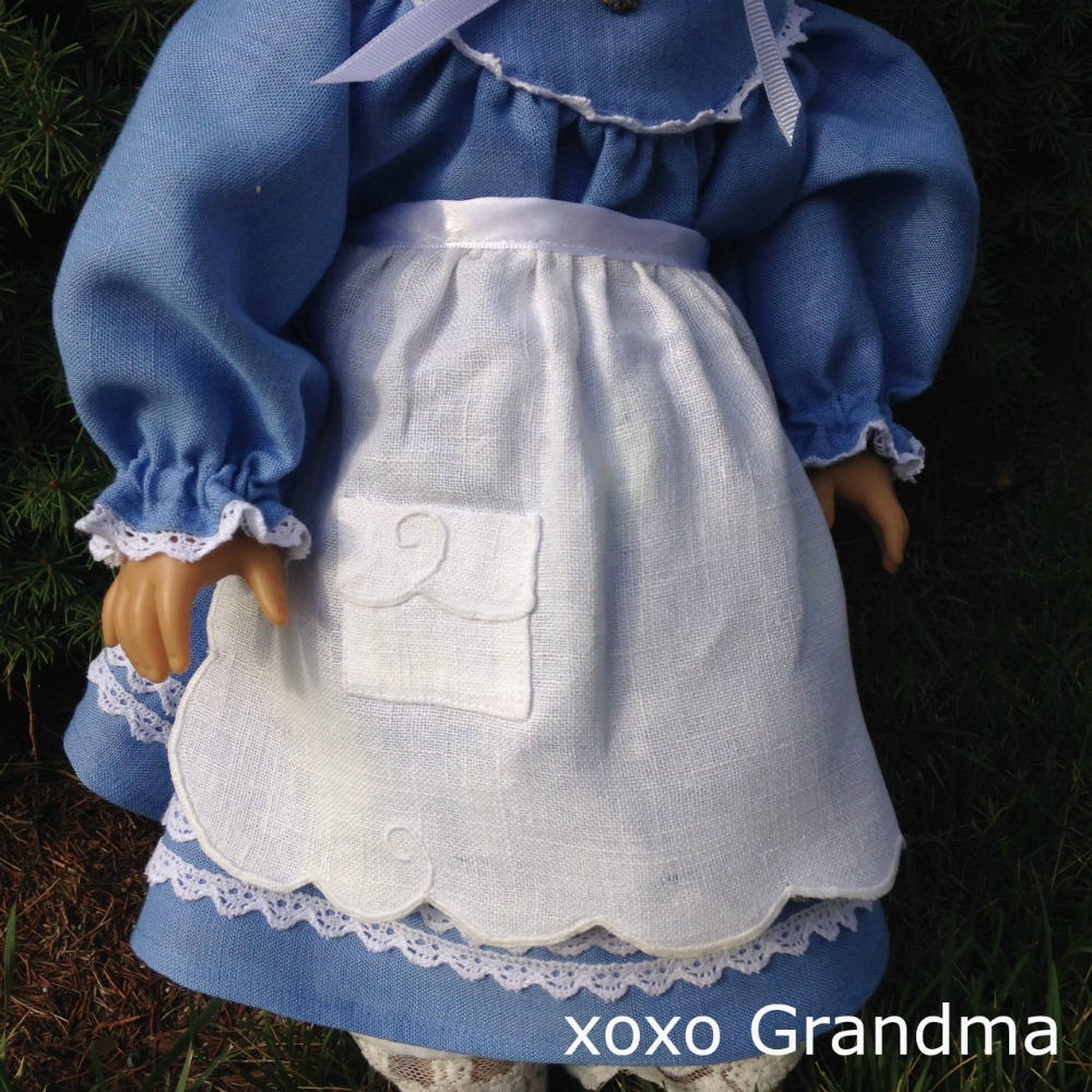 Free Apron Pattern For A Doll Allfreesewing Com