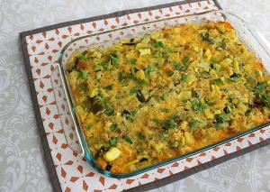 Healthy Homemade Boston Market Squash Casserole