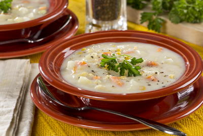 Creamy Corn and Potato Soup