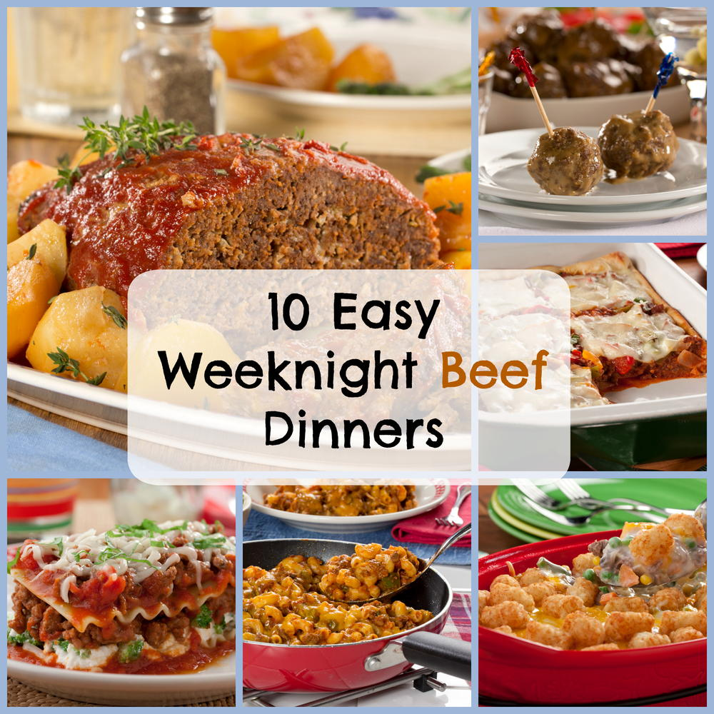 Easy Dinner Ideas With Hamburger: 10 Easy Weeknight Beef Dinners