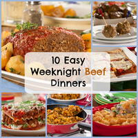 10 Easy Weeknight Beef Dinners