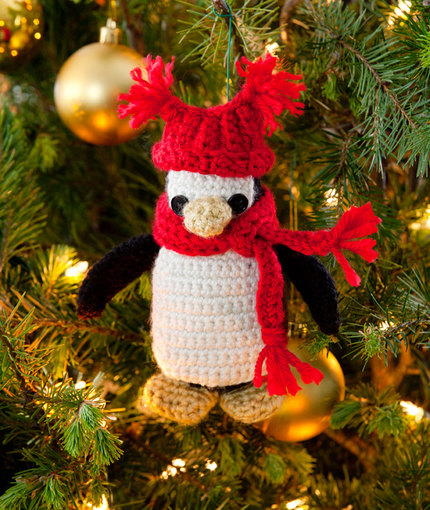 Pipsqueak Penguin Ornament