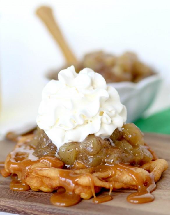 Apple Funnel Cake Recipe