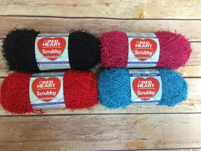 Red Heart Scrubby Yarn Allfreecrochetcom
