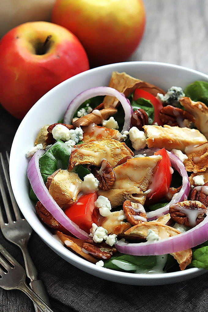 Panera Fuji Apple Chicken Salad Copycat