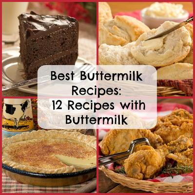 Best Buttermilk Recipes: 10 Recipes with Buttermilk  MrFood.com